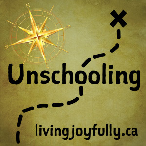 "Look for ""Growing Up Unschooling"" podcasts"