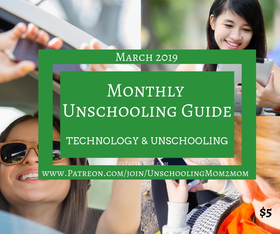 March Unschooling Guide - Technology