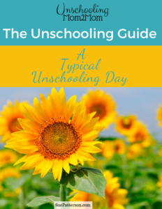 September Unschooling Guide: Typical Day