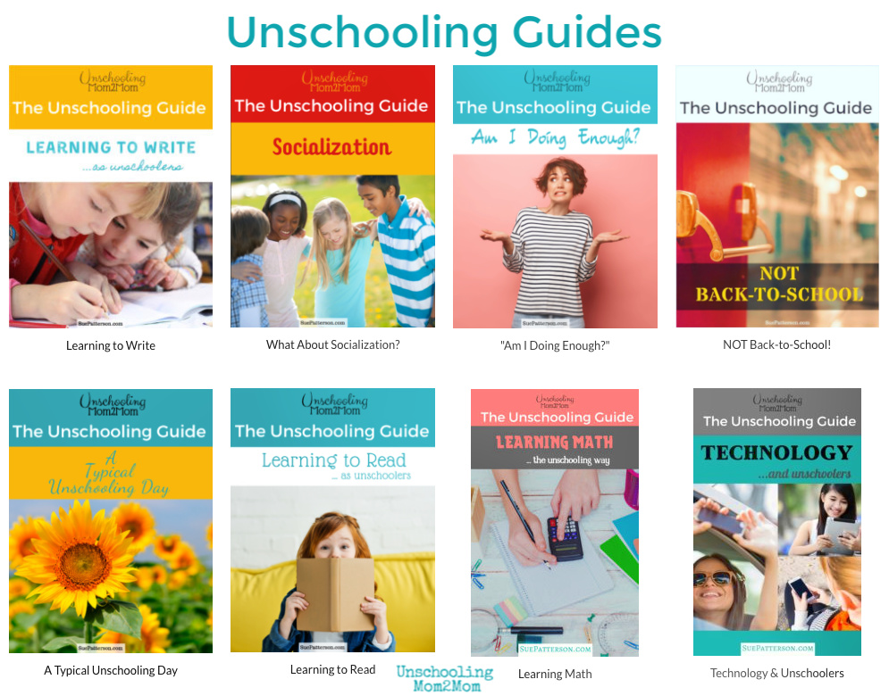 Unschooling Guides