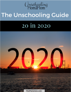 Get This Month's Unschooling Guide!