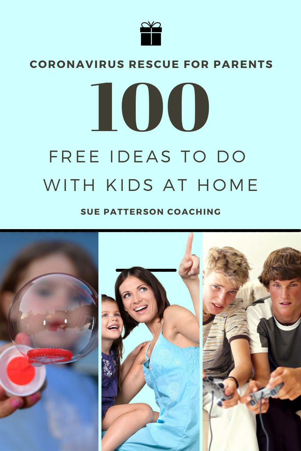 100 Free Things to do with Kids at home