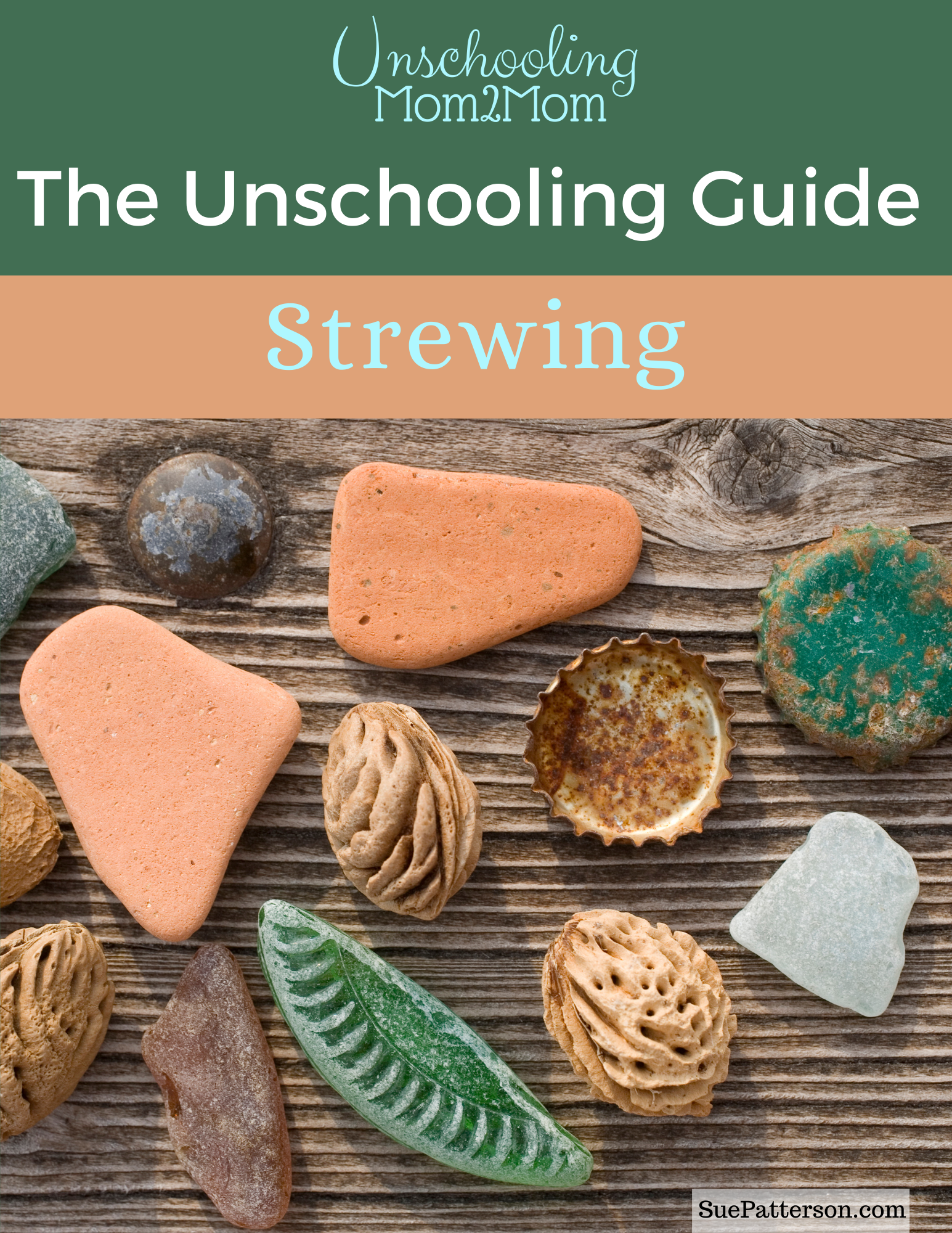 Practical suggestions and ideas for how unschoolers use strewing in their homes