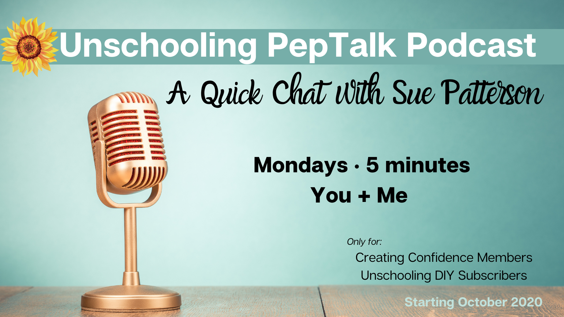 Sue's Pep Talk Podcast