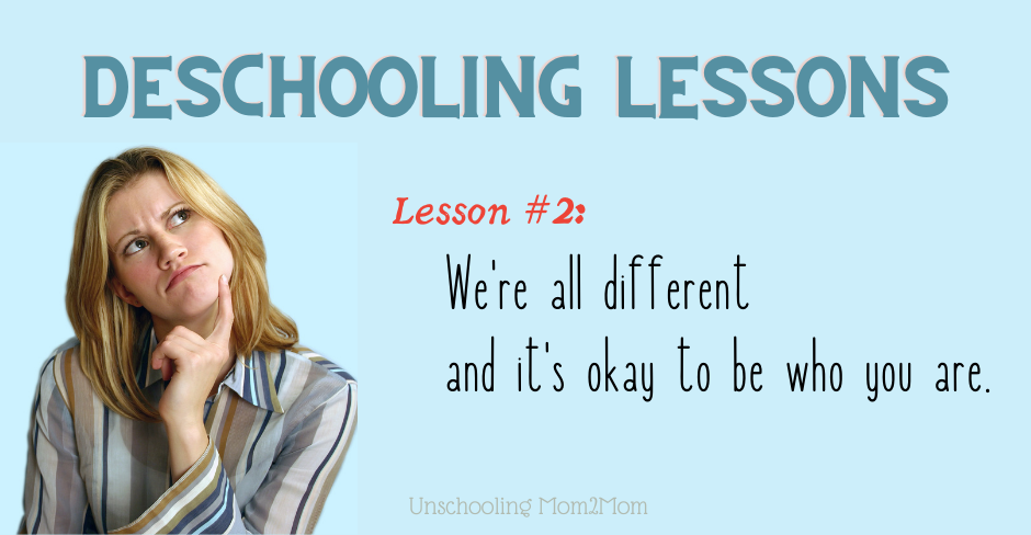 Unschooling, Deschooling, and Differences