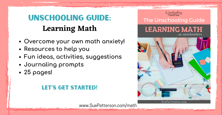 Unschooling Guide about Math