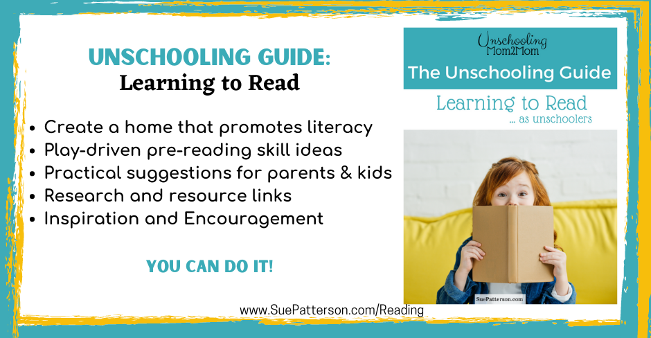 Unschooling Guide Learning to read