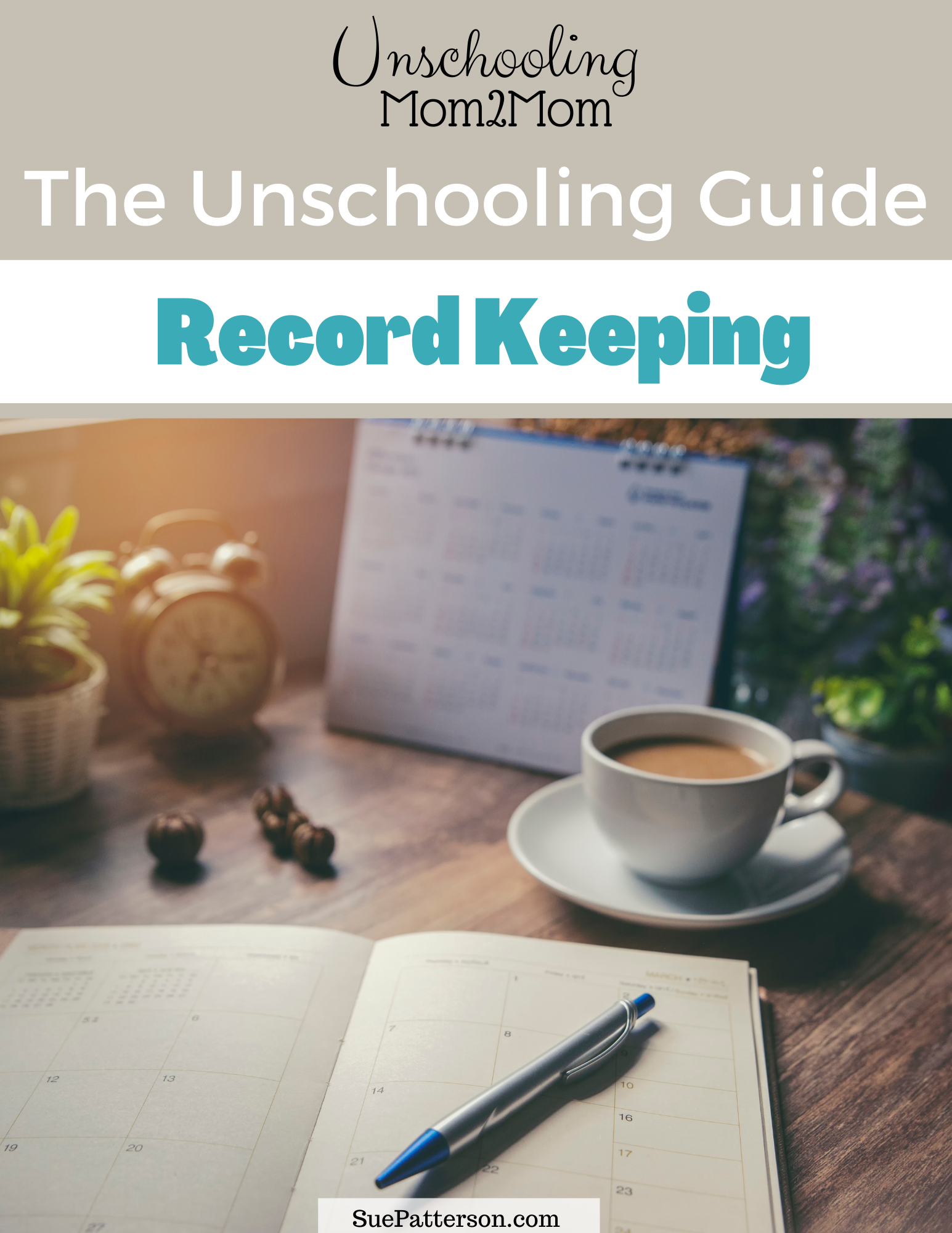 Unschooling Guide Record Keeping cover