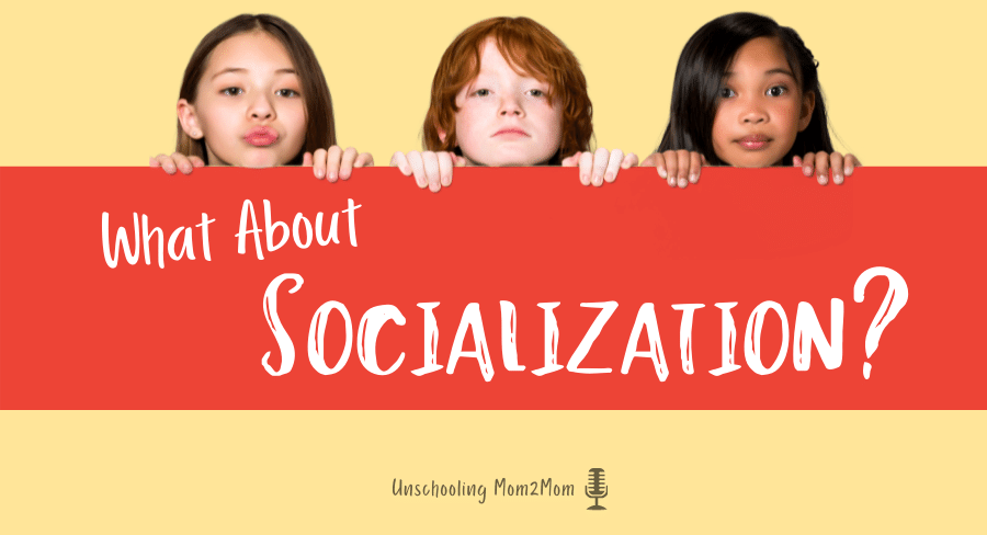 3 kids asking, What about socialization