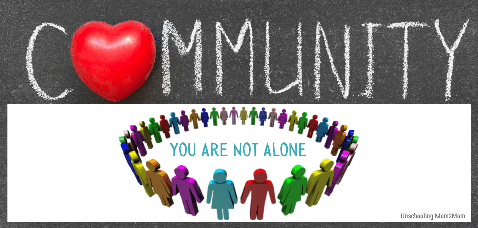 Community Building -You Are Not Alone