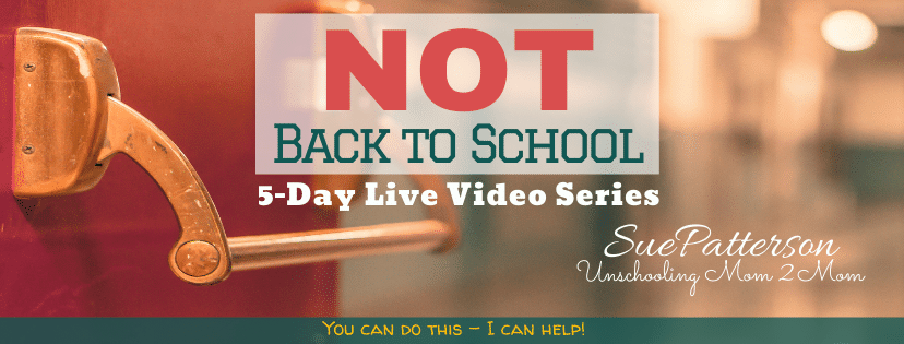 5 Video Series Not-Back-to-School