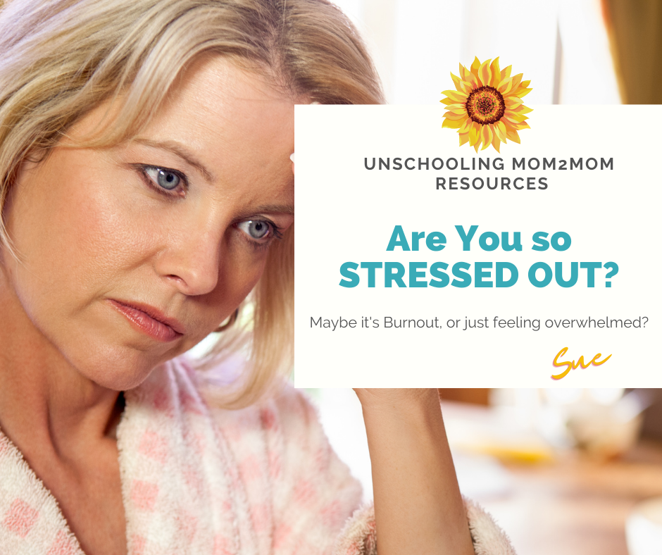 Stressed Out Moms!