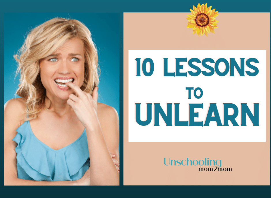 10 Lessons to UnLearn