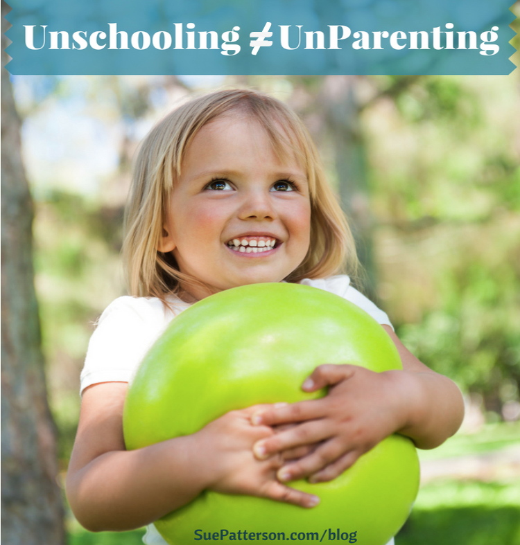 Is Unschooling Unparenting?