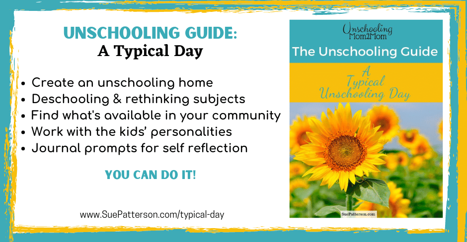 Unschooling Guide Typical Day
